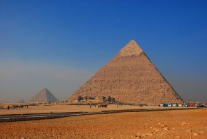 Famous ancient Egyptian pyramids and the three largest primeproductshub 2