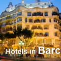 Barcelona hotels under $60. One star accommodation