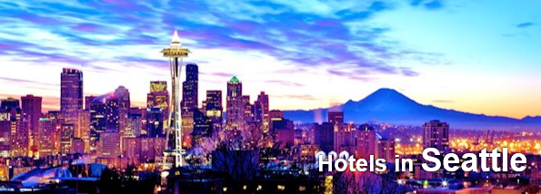 Seattle hotels under $100. One and Two star accommodation