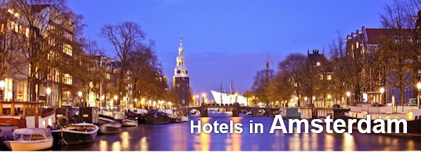 Amsterdam Hotels under $50. One and Two star accommodation.