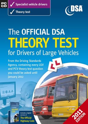 The Official DSA Theory Test for Drivers of Large Vehicles CD-ROM (2011 edition) prime products hub