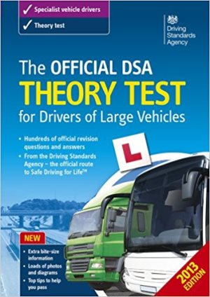 The Official DSA Theory Test for Drivers of Large Vehicles prime products hub