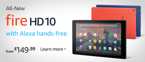 AllNew Fire HD 10 Tablet with Alexa HandsFree prime products hub
