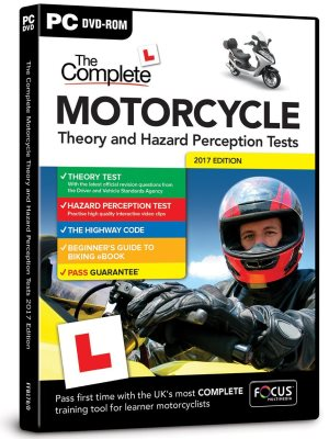 The Complete Motorcycle Theory and Hazard Perception Tests.