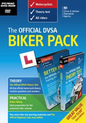 The Official DVSA Biker Pack DVD
