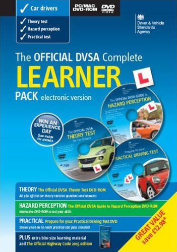 Official DVSA Complete Learner Pack DVD Learner Driver