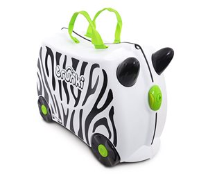 Trunki Zimba Zebra Children's Luggage Ride on suitcase